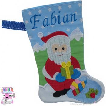 Nikolausstiefel Nikolaus Name Fabian Größe S