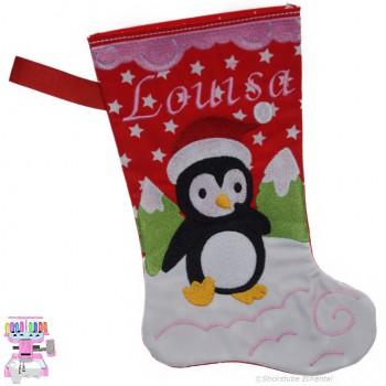 Nikolausstiefel Pinguin Name Louisa Größe S
