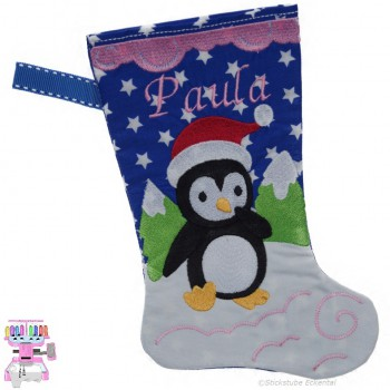 Nikolausstiefel Pinguin Name Paula Größe S