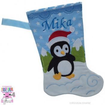 Nikolausstiefel Pinguin Name Mika Größe S