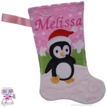 Nikolausstiefel Pinguin Name Melissa Größe S