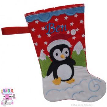 Nikolausstiefel Pinguin Name Ben Größe S