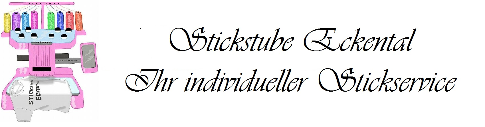Stickstube Eckental - Ihr individueller Stickservice-Logo