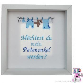 Stickerei In Eckental Bestickt Windel Patenonkel Taufe